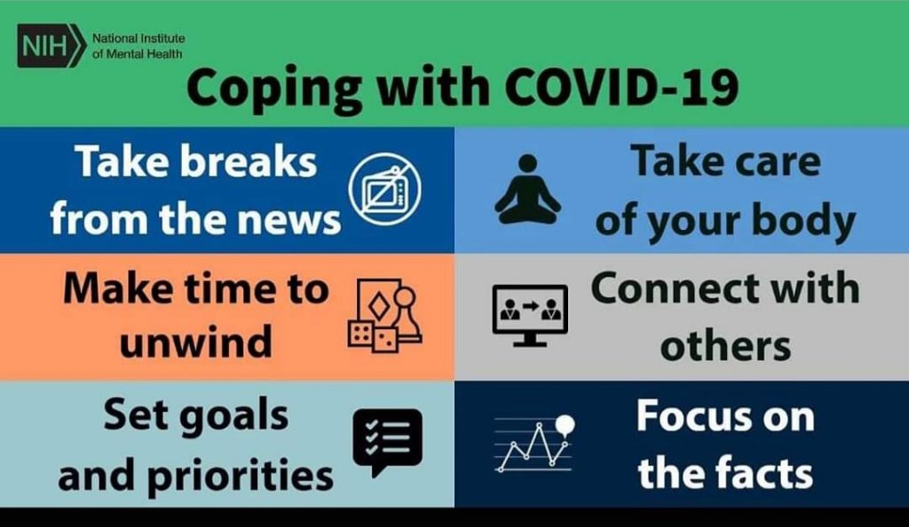 Some suggestions for coping with COVID-19